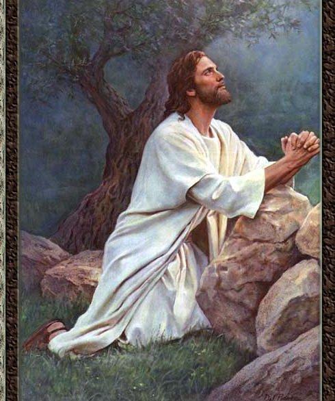 LA ORACIÓN DE JESÚS EN EL HUERTO DE GETSEMANÍ